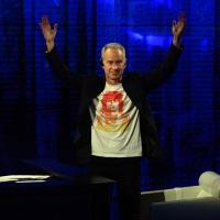 """Foto Nicoloro G.   19/10/2014   Milano   Trasmissione televisiva su Rai 3 """" Che tempo che fa"""". nella foto il campione di tennis John Mc Enroe."""