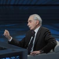 """Foto Nicoloro G. 20/03/2011 Milano Trasmissione televisiva su Rai3 """" Che tempo che fa """" condotta da Fabio Fazio. nella foto Giuliano Amato"""