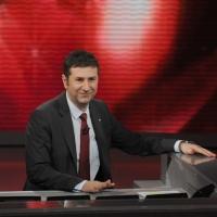 """Foto Nicoloro G. 20/03/2011 Milano Trasmissione televisiva su Rai3 """" Che tempo che fa """" condotta da Fabio Fazio. nella foto Fabio Fazio"""