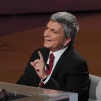 """Foto Nicoloro G. 20/11/2011 Milano Trasmissione televisiva su Rai3″ Che tempo che fa """" condotta da Fabio Fazio. nella foto Nichi Vendola"""