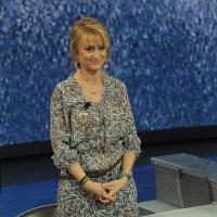 """Foto Nicoloro G. 20/11/2011 Milano Trasmissione televisiva su Rai3″ Che tempo che fa """" condotta da Fabio Fazio. nella foto Luciana Littizzetto"""