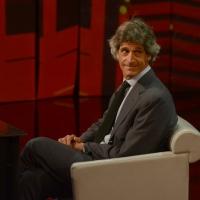 """Foto Nicoloro G. 21/04/2013 Milano Trasmissione televisiva su Rai3 """" Che tempo che fa """" condotta da Fabio Fazio. nella foto Guido Barilla"""