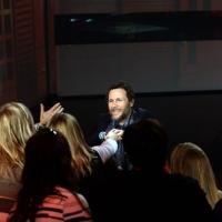 """Foto Nicoloro G. 21/04/2013 Milano Trasmissione televisiva su Rai3 """" Che tempo che fa """" condotta da Fabio Fazio. nella foto Jovanotti tra il pubblico"""