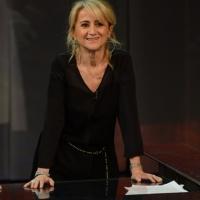"""Foto Nicoloro G. 21/04/2013 Milano Trasmissione televisiva su Rai3 """" Che tempo che fa """" condotta da Fabio Fazio. nella foto Luciana Littizzetto"""