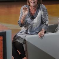 """Foto Nicoloro G. 21/01/2012 Milano Trasmissione televisiva su Rai3 """" Che tempo che fa """" condotta da Fabio Fazio. nella foto Lella Costa"""
