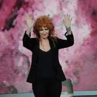 """Foto Nicoloro G. 21/01/2012 Milano Trasmissione televisiva su Rai3 """" Che tempo che fa """" condotta da Fabio Fazio. nella foto Fiorella Mannoia"""