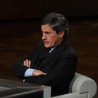 """Foto Nicoloro G. 21/01/2012 Milano Trasmissione televisiva su Rai3 """" Che tempo che fa """" condotta da Fabio Fazio. nella foto Gianni Alemanno"""