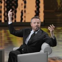 """Foto Nicoloro G. 22/01/2011 Milano Trasmissione televisiva su Rai3 """" Che tempo che fa """" condotta da Fabio Fazio. nella foto Christian De Sica"""