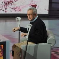 """Foto Nicoloro G. 22/01/2012 Milano Trasmissione televisiva su Rai3 """" Che tempo che fa """" condotta da Fabio Fazio. nella foto Giulio Tremonti"""