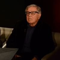 """Foto Nicoloro G.   22/02/2015   Milano   Trasmissione televisiva su Rai 3 """" Che tempo che fa"""". nella foto il regista Paolo Taviani."""