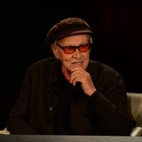 """Foto Nicoloro G.   22/02/2015   Milano   Trasmissione televisiva su Rai 3 """" Che tempo che fa"""". nella foto il regista Vittorio Taviani."""