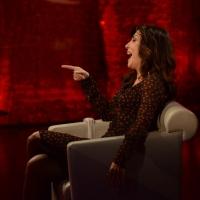 """Foto Nicoloro G.   22/02/2015   Milano   Trasmissione televisiva su Rai 3 """" Che tempo che fa"""". nella foto l' attrice Sabrina Ferilli."""