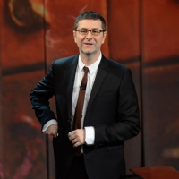 """Foto Nicoloro G. 23/02/2013 Milano Trasmissione televisiva su Rai3 """" Che tempo che fa """" condotta da Fabio Fazio. nella foto Fabio Fazio"""