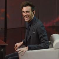 """Foto Nicoloro G. 23/02/2013 Milano Trasmissione televisiva su Rai3 """" Che tempo che fa """" condotta da Fabio Fazio. nella foto Marco Mengoni"""