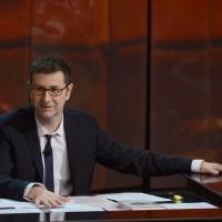 """Foto Nicoloro G. 24/02/2013 Milano Trasmissione televisiva su Rai3 """" Che tempo che fa """" condotta da Fabio Fazio. nella foto Fabio Fazio"""