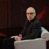 """Foto Nicoloro G. 24/02/2013 Milano Trasmissione televisiva su Rai3 """" Che tempo che fa """" condotta da Fabio Fazio. nella foto Gabriele Salvatores"""