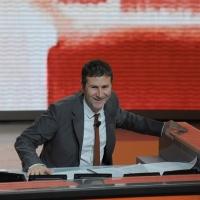 """Foto Nicoloro G. 24/09/2011 Milano Trasmissione televisiva su Rai3 """" Che tempo che fa """" condotta da Fabio Fazio. nella foto Fabio Fazio"""