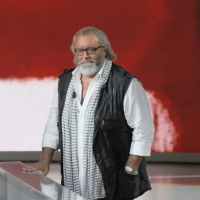 """Foto Nicoloro G. 24/09/2011 Milano Trasmissione televisiva su Rai3 """" Che tempo che fa """" condotta da Fabio Fazio. nella foto Diego Abatantuono"""