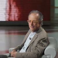 """NIKFoto Nicoloro G. 24/09/2011 Milano Trasmissione televisiva su Rai3 """" Che tempo che fa """" condotta da Fabio Fazio. nella foto Gherardo Colombo"""
