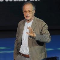 """Foto Nicoloro G. 24/09/2011 Milano Trasmissione televisiva su Rai3 """" Che tempo che fa """" condotta da Fabio Fazio. nella foto Gherardo Colombo"""