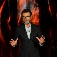 Foto Nicoloro G.   26/09/2015   Milano   Prima serata della nuova serie di trasmissioni su Rai 3 ' Che fuori tempo che fa '. nella foto il conduttore Fabio Fazio.
