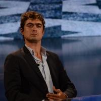 Foto Nicoloro G.   26/09/2015   Milano   Prima serata della nuova serie di trasmissioni su Rai 3 ' Che fuori tempo che fa '. nella foto l' attore Riccardo Scamarcio.