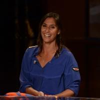 Foto Nicoloro G.   26/09/2015   Milano   Prima serata della nuova serie di trasmissioni su Rai 3 ' Che fuori tempo che fa '. nella foto la campionessa di tennis Flavia Pennetta.