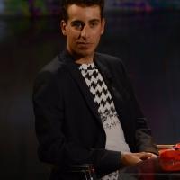 Foto Nicoloro G.   26/09/2015   Milano   Prima serata della nuova serie di trasmissioni su Rai 3 ' Che fuori tempo che fa '. nella foto il campione di ciclismo Fabio Aru.