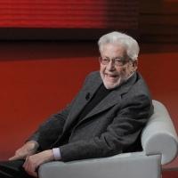 """Foto Nicoloro G. 26/11/2011 Milano Trasmissione televisiva su Rai3 """" Che tempo che fa """" condotta da Fabio Fazio. nella foto Ettore Scola"""