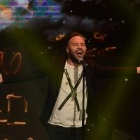 Foto Nicoloro G.  27/09/2015   Milano  Trasmissione televisiva su Rai 3 ' Che tempo che fa '. nella foto il cantautore Giuliano Sangiorgi dei ' Negramaro '.