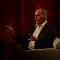 Foto Nicoloro G.  27/09/2015   Milano  Trasmissione televisiva su Rai 3 ' Che tempo che fa '. nella foto l' ex ministro delle Finanze greco Gianis Varoufakis.