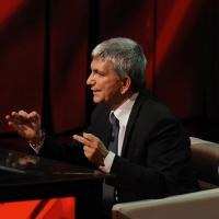 """Foto Nicoloro G. 29/10/2012 Milano Trasmissione televisiva su Rai3 """" Che tempo che fa """" condotta da Fabio Fazio. nella foto Nichi Vendola"""