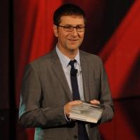 """Foto Nicoloro G. 29/10/2012 Milano Trasmissione televisiva su Rai3 """" Che tempo che fa """" condotta da Fabio Fazio. nella foto Fabio Fazio"""