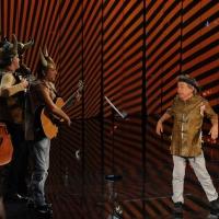 """Foto Nicoloro G. 29/10/2012 Milano Trasmissione televisiva su Rai3 """" Che tempo che fa """" condotta da Fabio Fazio. nella foto Paolo Rossi"""