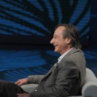 """Foto Nicoloro G. 29/01/2011 Milano Trasmissione televisiva su Rai3 """" Che tempo che fa """" condotta da Fabio Fazio. nella foto Riccardo Iacona"""