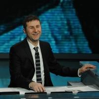 """Foto Nicoloro G. 03/03/2012 Milano Trasmissione televisiva su Rai3 """" Che tempo che fa """" condotta da Fabio Fazio. nella foto Fabio Fazio"""