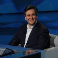 """Foto Nicoloro G. 04/03/2012 Milano Trasmissione televisiva su Rai3 """" Che tempo che fa """" condotta da Fabio Fazio. nella foto Anthony Pappano"""
