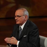 """Foto Nicoloro G. 04/03/2012 Milano Trasmissione televisiva su Rai3 """" Che tempo che fa """" condotta da Fabio Fazio. nella foto Attilio Befera"""