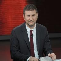 """Foto Nicoloro G. 17/12/2011 Milano Trasmissione televisiva su Rai3 """" Che tempo che fa """" condotta da Fabio Fazio. nella foto Fabio Fazio"""