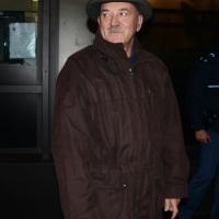 """Foto Nicoloro G.  01/02/2014  Milano    Trasmissione televisiva su Rai3 """" Che tempo che fa """". nella foto  Luigi Angeletti, segretario generale Uil."""