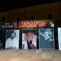 """Foto Nicoloro G. 03/08/2013 Cervia ( Ravenna ) Ventiduesima edizione de """" Il Sarchiapone - Carosello comico Walter Chiari """". nella foto Il palco"""