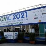 Foto Nicoloro G.   28/09/2021   Ravenna    XV edizione di OMC - Med Energy Conference che quest' anno pone al centro del dibattito la ' transizione ecologica '. nella foto ingresso allo spazio espositivo.