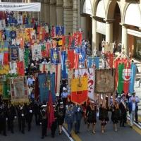 Foto Nicoloro G.  02/08/2014  Bologna    34esimo anniversario della strage alla stazione di Bologna. nella foto massiccia la partecipazione alla cerimonia.