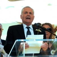 Foto Nicoloro G.  02/08/2014  Bologna    34esimo anniversario della strage alla stazione di Bologna. nella foto Paolo Bolognesi, presidente della Associazione famigliari delle vittime.