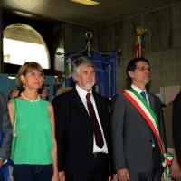 Foto Nicoloro G.  02/08/2014  Bologna    34esimo anniversario della strage alla stazione di Bologna. nella foto al centro il ministro Giuliano Poletti con le altre autorità.