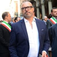 Foto Nicoloro G.  02/08/2015   Bologna   Trentacinquesimo anniversario della strage alla stazione di Bologna. nella foto il governatore dell' Emilia-Romagna Stefano Bonaccini.