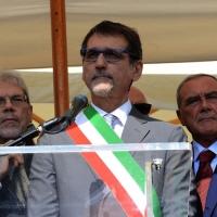 Foto Nicoloro G.  02/08/2015   Bologna   Trentacinquesimo anniversario della strage alla stazione di Bologna. nella foto il sindaco di Bologna Virginio Merola.