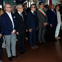 Foto Nicoloro G.  02/08/2015   Bologna   Trentacinquesimo anniversario della strage alla stazione di Bologna. nella foto le autorità presenti tra le quali il presidente del Senato Pietro Grasso.