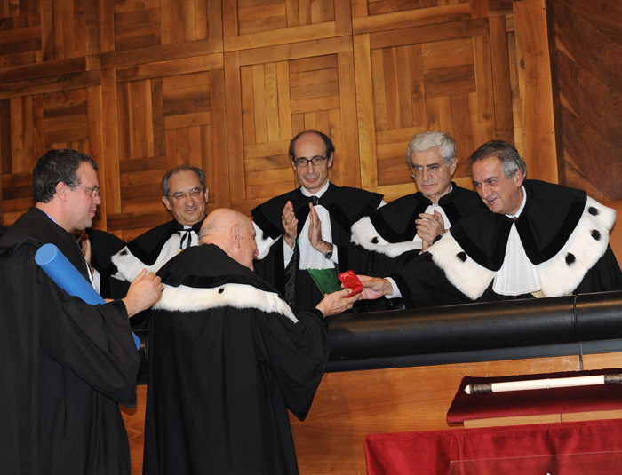 Laurea honoris causa – Julien Ries – Lorenzo Ornaghi